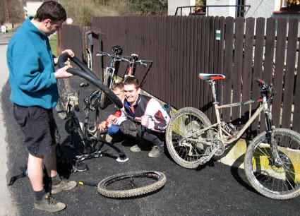 Bikování v povltaví