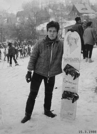 mkds na snowboardu